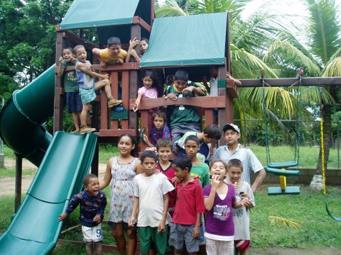 Majken Broby Childrens Home Orphanage, Roatan, Honduras